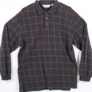 Eddie Bauer Men's Polo Dress Sweater Long Sleeve